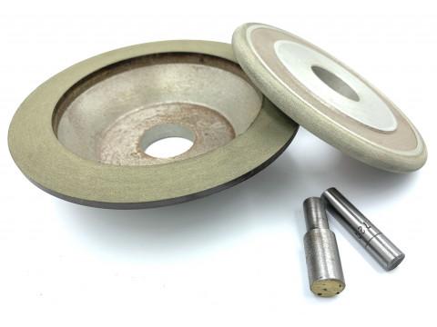 Чашка алмазная 150х40х20х3х32  12А2-45° АС4 125/100 В201
