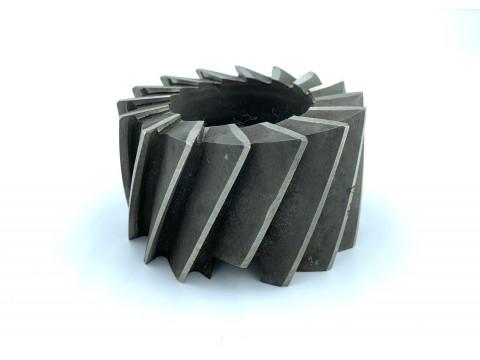 Фреза цилиндрическая насадная ф 80х100х32 мм Р6М5 z=16