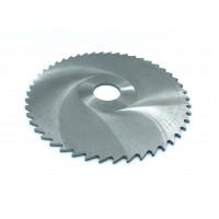 Фреза дисковая отрезная ф 100х2.5х27 мм Р6М5 z=48 прорезной зуб, со ступицей, без ш/п