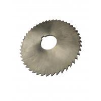 Фреза дисковая отрезная ф  80х5.0х22 мм Р6М5 z=32 прорезной зуб, без ступицы, с ш/п