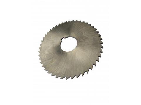 Фреза дисковая отрезная ф  80х2.0х22 мм Р6М5 z=40 отрезной зуб, без ступицы, c ш/п
