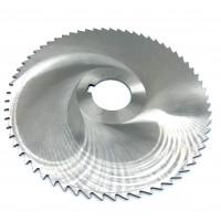 Фреза дисковая отрезная ф 125х3.5х27мм Р6М5 z=48 прорезной зуб, со ступицей, с ш/п