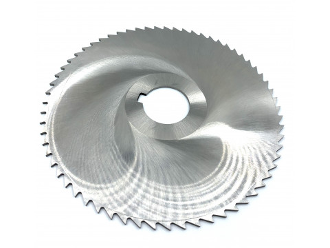 Фреза дисковая отрезная ф 200х3.5х32 мм Р6М5 z=64 прорезной зуб, со ступицей, с ш/п