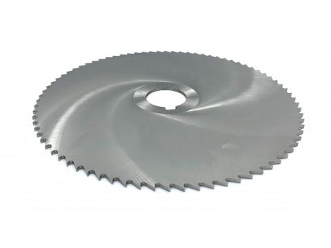 Фреза дисковая отрезная ф 200х2.0х32 мм Р6М5 z=80 прорезной зуб, со ступицей, с ш/п