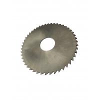 Фреза дисковая отрезная ф 100х2.5х22 мм Р6М5 z=48 прорезнойзуб, без ступицы, без ш/п