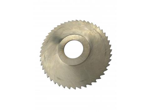 Фреза дисковая отрезная ф  80х2.0х22 мм Р6М5 z=20 прорезной зуб, со ступицей, без ш/п