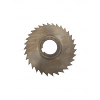 Фреза дисковая отрезная ф 200х2.5х32 мм Р6М5 z=40 прорезной зуб, со ступицей, с ш/п