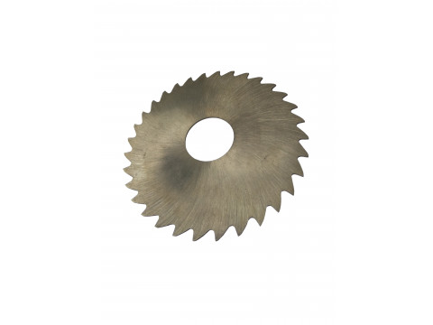 Фреза дисковая отрезная ф  80х1.0х22 мм Р6М5 z=100 прорезной зуб, без ступицы, без ш/п
