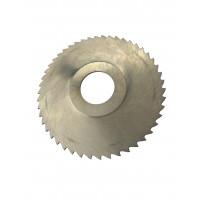Фреза дисковая отрезная ф  80х1.0х22 мм Р6М5 z=64 прорезной зуб, со ступицей, без ш/п