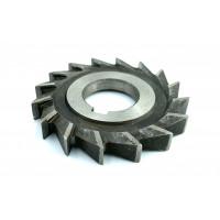 Фреза дисковая трехсторонняя ф 100х12х32 мм Р6М5 прямой зуб цельная
