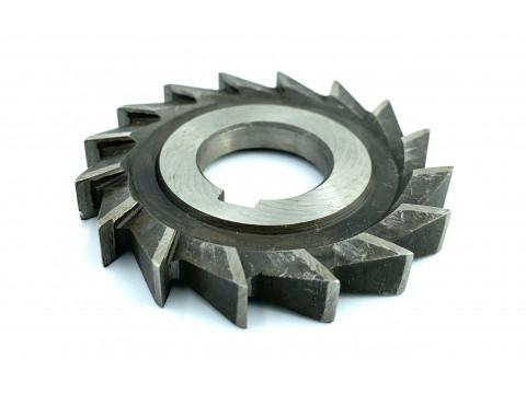 Фреза дисковая трехсторонняя ф  63х6х22 мм Р18 прямой зуб цельная