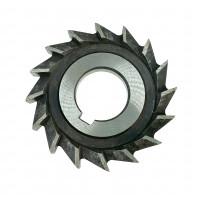 Фреза дисковая трехсторонняя ф 125х12х32 мм Р6М5 прямой зуб Китай