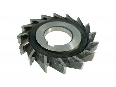 Фреза дисковая трехсторонняя ф  63х6х22 мм Р6М5 прямой зуб цельная
