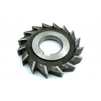 Фреза дисковая трехсторонняя ф  80х10х27 мм Р6М5 прямой зуб цельная