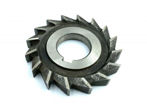 Фреза дисковая трехсторонняя ф 100х16х32 мм Р6М5К5 прямой зуб