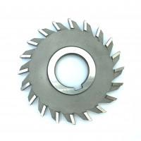 Фреза дисковая трехсторонняя ф 160х14х40 мм Р6М5 прямой зуб Китай