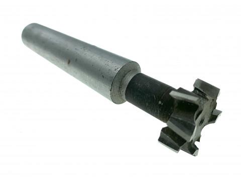 Фреза Т-образная к/х ф 21х9 мм Р6М5 паз 12мм КМ2