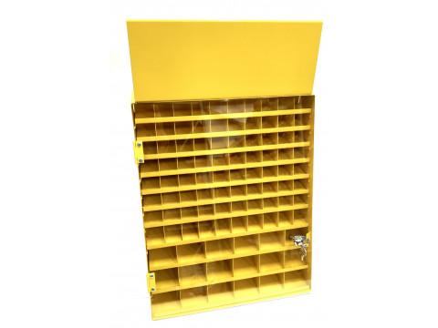 Шкаф для сверл 29 ячеек (одна дверца) Энкор 22561
