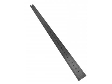 Линейка металлическая  с двусторонней шкалой  500х22.5х0.5мм