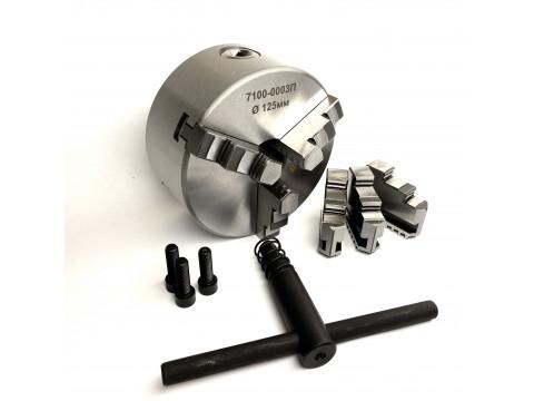 Патрон токарный ф125 мм 3-х кул. 7100-0003П (К11-125) TORNERI