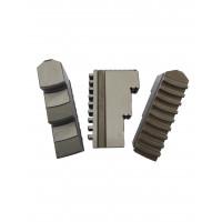 Кулачки прямые к патрону токарному ф250 3-х кул. шаг 9мм,ширина 28 мм, паз 12 мм