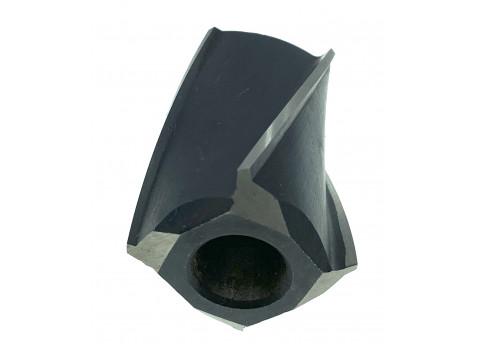 Зенкер насадной ф 37 №2 Р18 пос.16 Н=34 мм