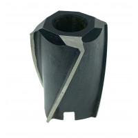Зенкер насадной ф 40 №1 Р18 пос.16 Н=34 мм